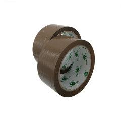 Pack Bomei marrón fábrica BOPP cinta adhesiva 48mm Fuerte pegajoso de cartón caja de embalaje sellado