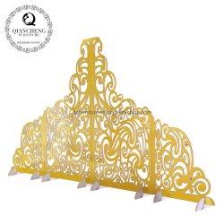 Boda moda accesorios de talla de copo de nieve Supplie Decoración Navideña como telón de fondo