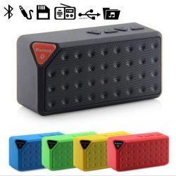 Inalámbrico Portátil recargable mini altavoz Bluetooth estéreo al aire libre caja acústica con la tarjeta del TF U disco