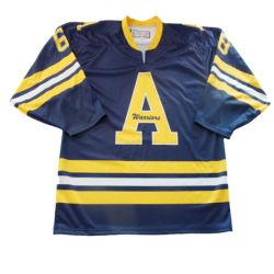 Meilleur prix bon marché uniformes de Hockey personnalisé vide de gros de nouvelle conception des chandails de hockey de vêtements de l'équipe de hockey