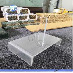 Clair trempé incurvé en verre teinté / chaud du verre courbé pour les tables, étagères, Mur-rideau, mobilier de maison