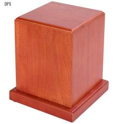 Le bois Animal Coffin Handmade Crematory urnes en bois pour les êtres Pet à la crémation
