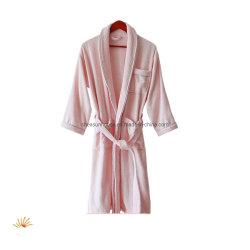 卸し売り綿ホテルの家のバスローブは人のために服を着る