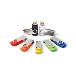 Autocollant USB pivotant en plastique Twister Pendrive