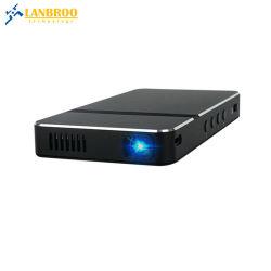 ビジネスのための小型ポケットDLPプロジェクターまたは教授またはホーム映画館サポートWiFiまたは無線の及びワイヤーで縛られたスクリーンMirror/HDMI-in/USB/TFのカード