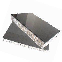 Rideau de matériaux de construction décoration murale aluminium plaque de métal alvéolé