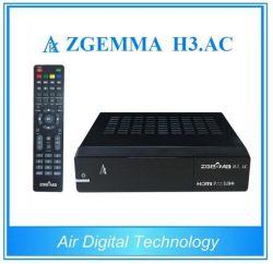 Два ядра Linux OS E2 цифровое спутниковое ТВ приемник Zgemma H3. AC DVB-S2+двумя тюнерами ATSC