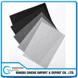 Les medias eau-air de filtre à huile ont plissé le papier actif de fibre de carbone