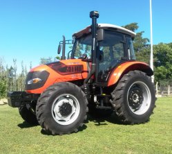 Deutz 화씨 트랙터 Co. 주식 회사 4WD ROP 디젤 엔진 오두막을%s 가진 농업 농장 트랙터
