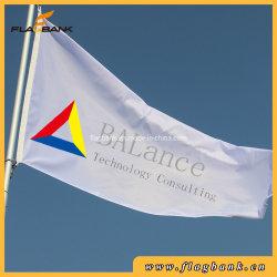 Outdoor Logo personnalisé impression numérique, drapeau de la publicité horizontal
