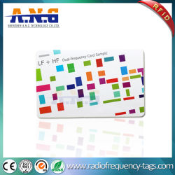بطاقة RFID الذكية بدون أطراف تلامس مقاس 13.56 ميجاهرتز مقاس مخصص NFC قابلة للبرمجة