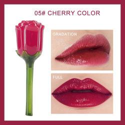 Les femmes cosmétique maquillage rose lèvre hydratant Glaze Crystal Lipgloss