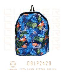 Fashion Style plage Seaside Look Sac shopping Boheimia Jungle Style 100% Polyester sac à dos Sac à dos en toile sac à main Sacs à fermeture éclair en nylon d'étudiant de voyage