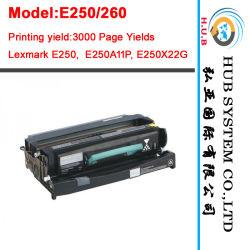 Cartucho de tóner negro Lexmark E250, E350 E352 /Kit de tambor