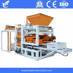 O Qt4-18 Máquina Automática Completa linha de produção de máquina para fazer blocos hidráulicos sólido