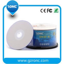 Spazio in bianco originale stampabile DVD della materia prima DVD all'ingrosso commercio all'ingrosso