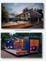 Atelier de bricolage Structure en acier préfabriqués Flatpack conteneur chambre