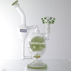 Df2809 haute en verre borosilicaté narguilé les pipes à eau pour la consommation de tabac