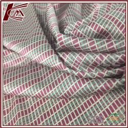 Deux couleurs pour les femmes de tissu Lurex foulard en soie 100%