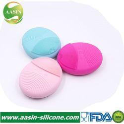 Escova de face de silicone com 2 baterias de 7 células