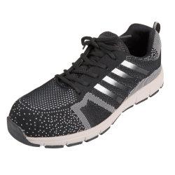 Schoenen van het Werk van de Veiligheid van het Schoeisel van de Veiligheid van de Schoenen van de Stof van Flyknit de Hogere Modieuze Sportieve Werkende