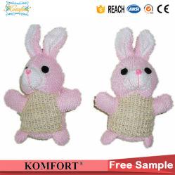 Fornitore animale Klb-122 della Cina del giocattolo del bagno del bambino del coniglio del sisal naturale