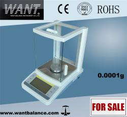 0.0001g Química Função Balança analítica de precisão