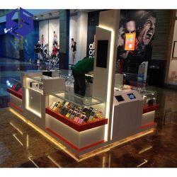 Showcase van de Kiosk van de Telefoon van het Glas van de Vertoning van de Kiosk van het Ontwerp van Ksl de Mobiele