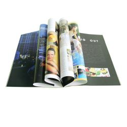 완벽한 바인딩 북 인쇄 / 잡지 / 브로셔 인쇄 (OEM-JS002)