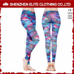 Mesdames sexy Sublimation Legging spandex polyester Yoga (ELTLI-70)