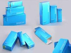 Set completo personalizable Fancy Papel estampado el logotipo de caja de papel de cosméticos