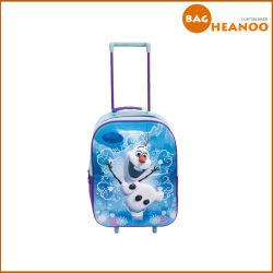 Sangle unique sac chariot léger sac à dos pour enfants/Gilr/Boy avec des roues
