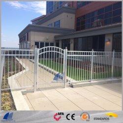 StahlOramental Zaun mit Puder beschichtete für Handelswohngarten-Swimmingpool