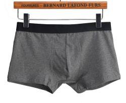 Mens Underwear Boxers coton confortable ouvert Fly mémoires