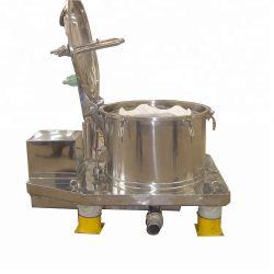 El modelo de elevación de la bolsa de Pd centrífuga de grado alimentario de descarga de la máquina de suero de leche