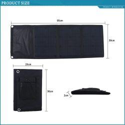 30W Складная солнечная панель USB Портативный мобильный телефон для автомобильного аккумулятора зарядное устройство для фальцовки лучший завод
