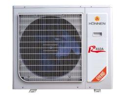 Gleichstrom-Inverter-Luft, zum der Wärmepumpe für das Abkühlen, die Heizung und gesundheitliches Heißwasser zu wässern