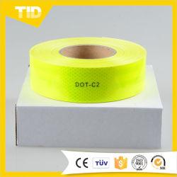 형광성 황록색 DOT-C2 사려깊은 테이프