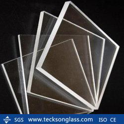 10mm surdimensionné Feuille de verre clair Float ultra faibles en fer
