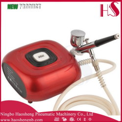 HS08 6AC Sk 에어브러시 압축기 장비 Portable는 /Cake 꾸미거나 못 귀영나팔을 구성한다