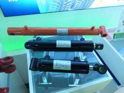 De ronde Grondplaat van de Pers/neemt/steunt Hydraulische Cilinder op