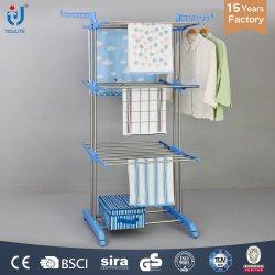 Съемные складные три слоя одежду и полотенце для установки в стойку