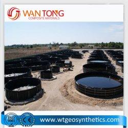Material virgen Waterproof Piscifactoría Precio Pond Liner Geomembrana HDPE