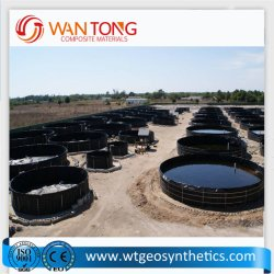 Virgin 물자 방수 물고기 농장 연못 강선 가격 HDPE Geomembrane