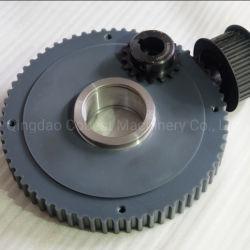 La transmisión de potencia de la máquina automática de acero reductor de engranajes rectos de plástico de nylon