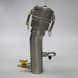 Camlock 오일 탱커 하단 샘플 채취 밸브(신속 커플링 유니언