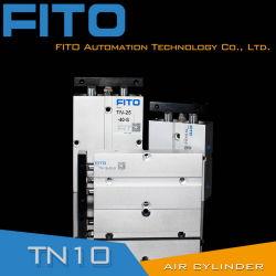 TN 시리즈 3개 로드/트윈 샤프트 복동식 공압 실린더