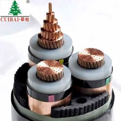 La norme ISO/TUV/CB/homologués CCC MV AC DC cuivre aluminium isolation en polyéthylène réticulé PVC gaine en caoutchouc sur le fil électrique/câble d'alimentation électrique de surcharge