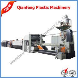 Haute vitesse plat en plastique PP/PE de fils machine d'Extrusion de bande de ligne de l'extrudeuse