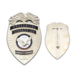 Die Casting Award de la police personnalisée d'un insigne Coin Club de la chaîne de l'artisanat